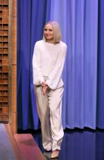 KRISTEN BELL at Tonight Show Starring Jimmy Fallon 11/12/2019