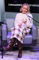 KRISTEN BELL at SiriusXM Studios in New York 11/13/2019