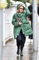 KYLIE MINOGUE Out and About in London 11/23/2019