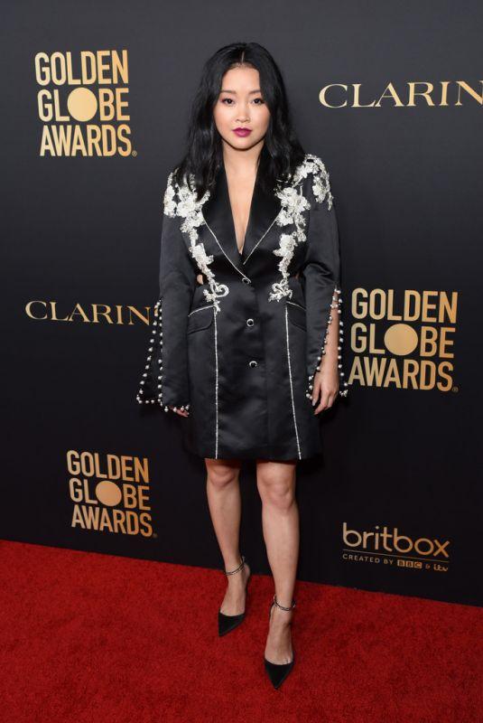 LANA CONDOR at HFPA & THR Golden Globe Ambassador Party in West Hollywood 11/14/2019
