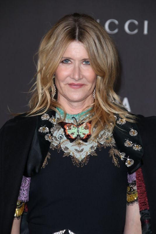 LAURA DERN at 2019 Lacma Art + Film Gala Presented by Gucci in Los Angeles 11/02/2019