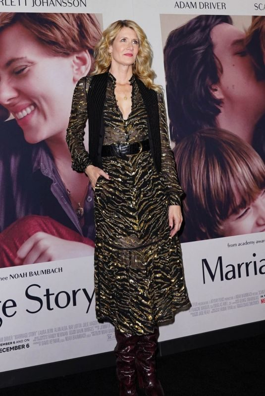 LAURA DERN at Marriage Story Premiere in New York 11/10/2019