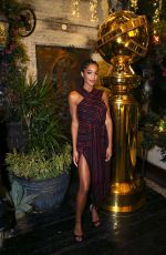 LAURA HARRIER at HFPA & THR Golden Globe Ambassador Party in West Hollywood 11/14/2019
