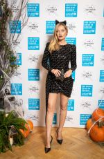 LAURA WHITMORE at Unicef Halloween Ball in London 10/30/2019