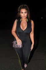 LAUREN GOODGER in Tights Night Out in London 11/18/2019