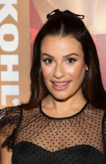 LEA MICHELE at Kohl's New Gifts at Every Turn Holiday Pop-up Opening in New York 11/06/2019
