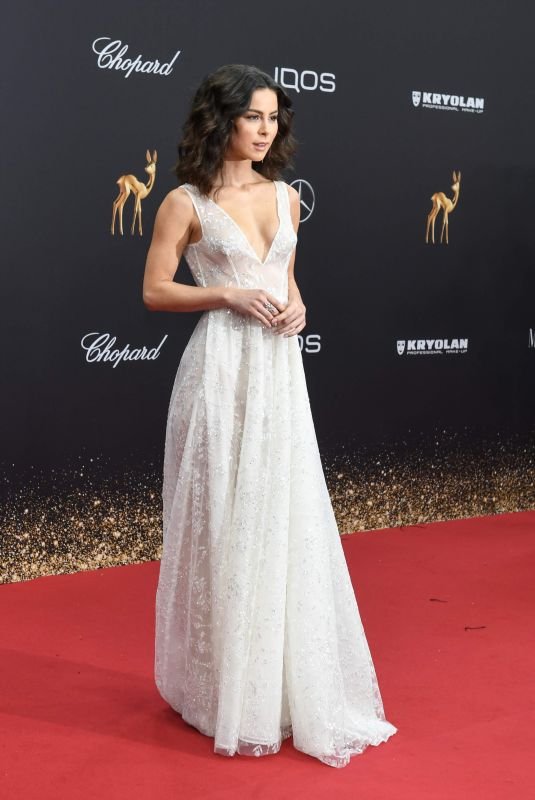 LENA MEYER-LANDRUT at Bambi Award 11/21/2019