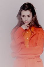 LILY COLLINS at a Photoshoot, November 2019