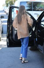 LILY COLLINS Out for Coffee in Los Angeles 11/18/2019