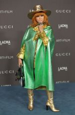 LINDA RAMONE at 2019 Lacma Art + Film Gala Presented by Gucci in Los Angeles 11/02/2019
