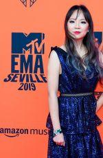 LISA RANRAN HU at MTV Europe Music Awards in Seville 11/03/2019