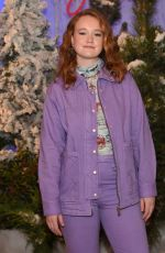 LIV HEWSON at Let It Snow Photocall in Beverly Hills 11/01/2019