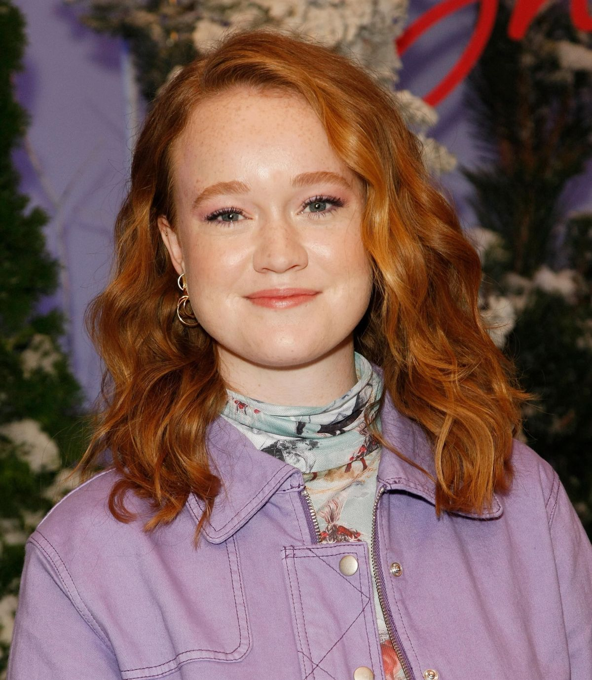 LIV HEWSON at Let It Snow Photocall in Beverly Hills 11/01