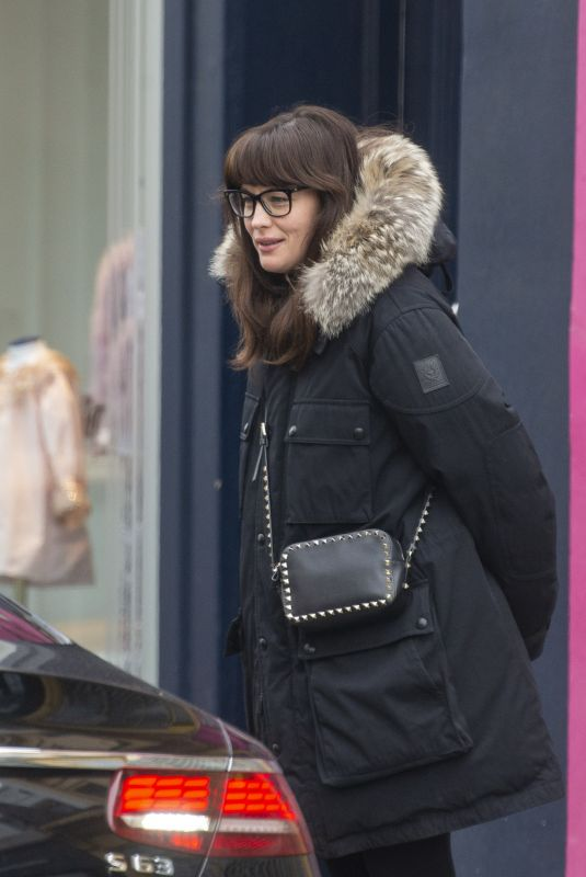 LIV TYLER Out Shopping in Notting Hill 11/19/2019