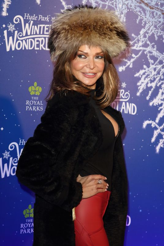LIZZIE CUNDY at Winter Wonderland 2019 VIP Launch in London 11/20/2019
