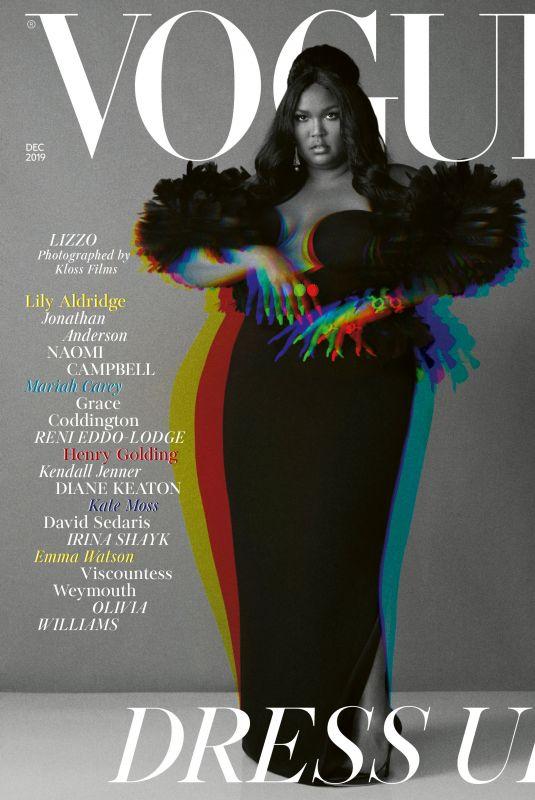 LIZZO in Vogue Magazine, December 2019