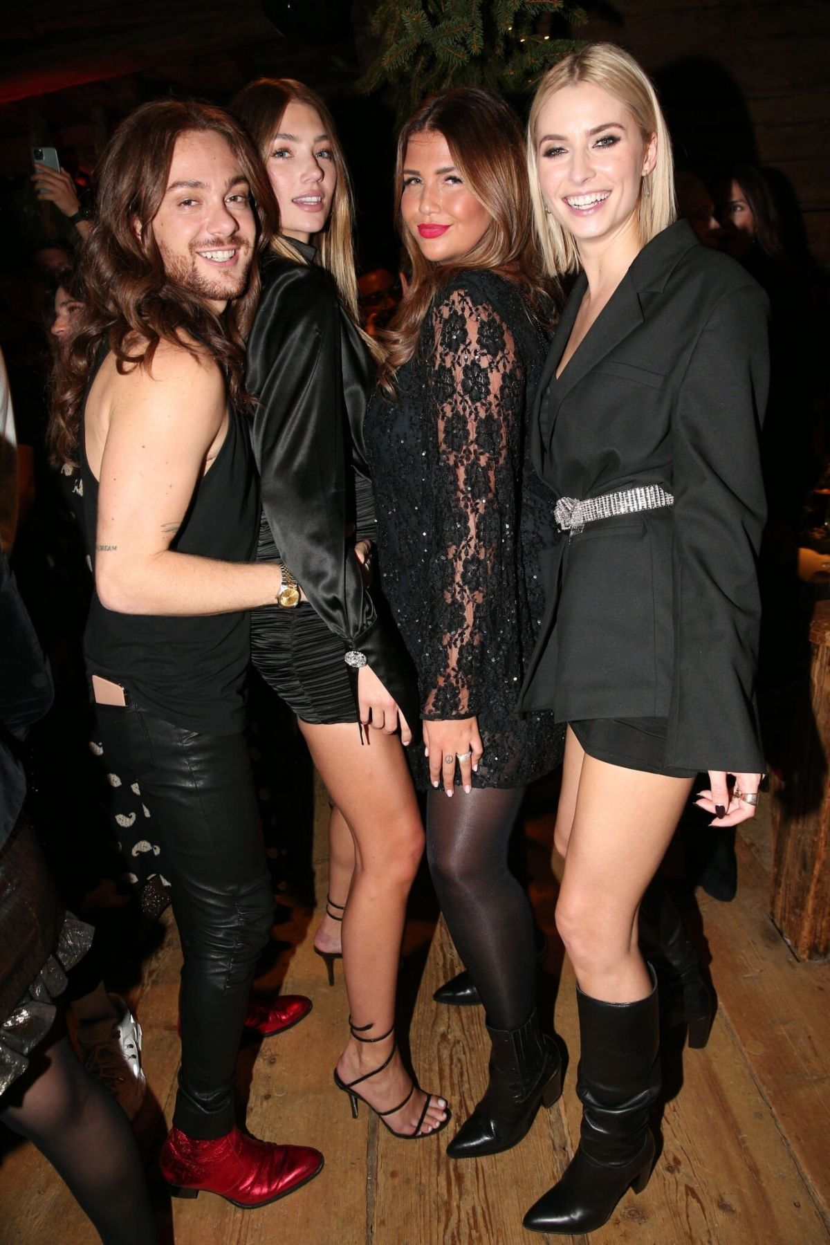 Lorena Rae And Lena Gercke At Christmas Dinner And Party 11