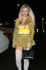 LOTTIE MOSS Arrives at Laylow Club Halloween Party in London 10/31/2019
