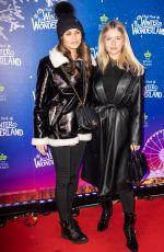 LOTTIE MOSS at Hyde Park Winter Wonderland 2019 Launch in London 11/20/2019