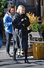 LUCY BOYNTON on the Set of The Politician in New York 11/21/201