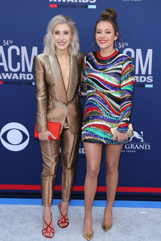 MADDIE & TAE at Academy of Country Music Awards in Las Vegas 04/07/2019
