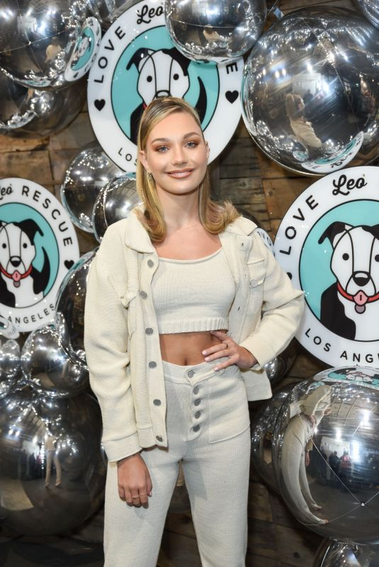 MADDIE ZIEGLER at Love Leo Rescue Cocktails for a Cause in Los Angeles 11/06/2019
