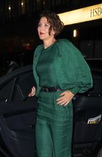 MAGGIE GYLLENHAAL Arrives at Ovarian Cancer Research Alliance Presents Style Lab in New York 11/06/2019