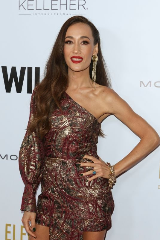 MAGGIE Q at 2019 Wildaid Gala in Beverly Hills 11/09/2019