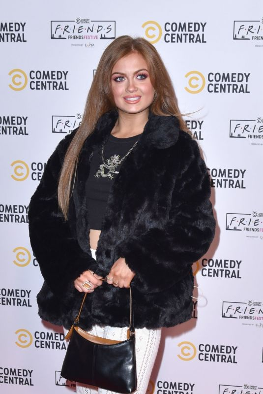 MAISIE SMITH at Comedy Central Friends Festive Exhibition Launch in London 11/28/2019