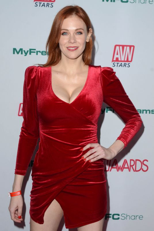 MAITLAND WARD at Aadult Video News Awards Nominations in Hollywood 11/21/2019