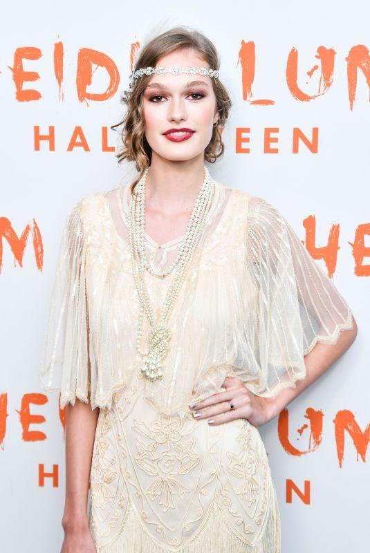 MALUMA at Heidi Klum's 20th Annual Halloween Party in New York 10/31/2019