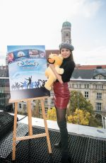 MANDY CAPRISTO at Disney in Concert: Dreams Come True Photocall 11/14/2019