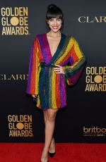 MARIA GABRIELA DE FAIRA at HFPA & THR Golden Globe Ambassador Party in West Hollywood 11/14/2019
