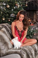 MAURA HIGGINS for Ann Summers Christmas Campaign, 11/26/2019