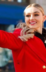 MEG DONNELLY at 100th 6ABC Dunkin Thanksgiving Day Parade in Philadelphia 11/28/2019