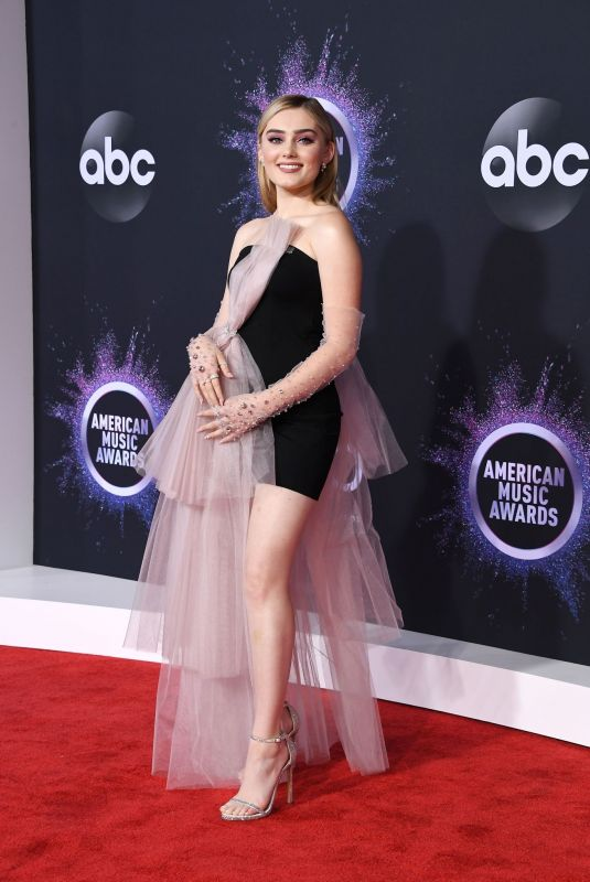 MEG DONNELLY at 2019 America Music Awards in Los Angeles 11/24/2019