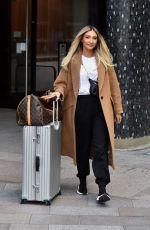 MEGAN MCKENNA Leaves ITV Studios in London 11/14/2019