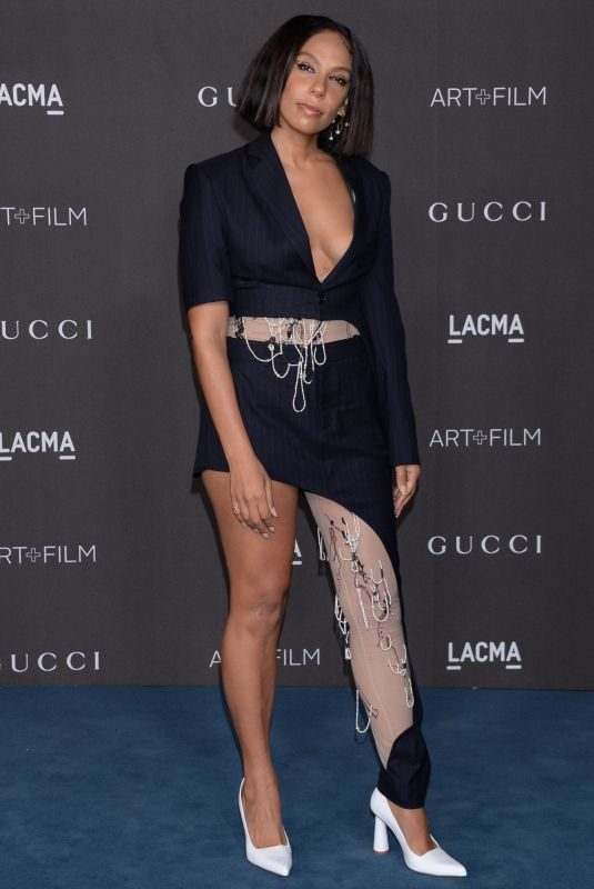 MELINA MATSOUKAS at 2019 Lacma Art + Film Gala Presented by Gucci in Los Angeles 11/02/2019