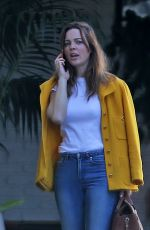 MELISSA GEORGE at Chateau Marmont in West Hollywood 11/01/2019