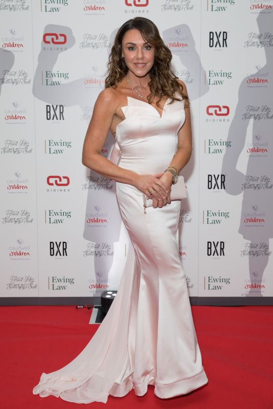MICHELLE HEATON at Caudwell Children Float Like a Butterfly Ball in London 11/16/2019