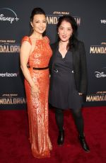 MING-NA WEN at The Mandalorian Premiere in Los Angeles 11/13/2019