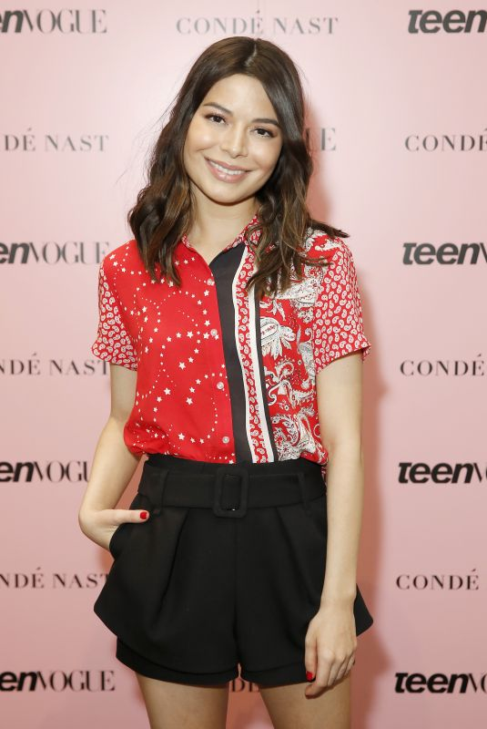 MIRANDA COSGROVE at Teen Vogue Summit 2019 in Los Angeles 11/02/2019
