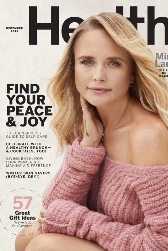 MIRANDA LANBERT in Health Magazine, December 2019