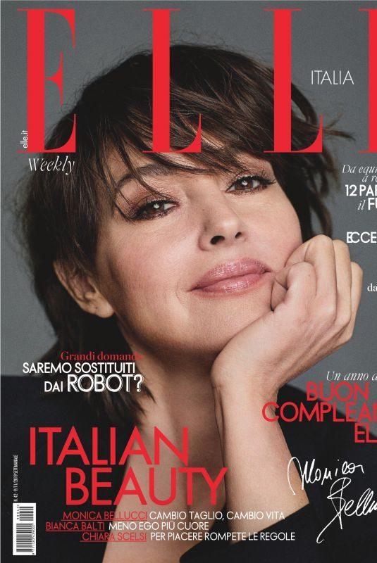 MONICA BELLUCCI in Elle Magazine, Italy November 2019