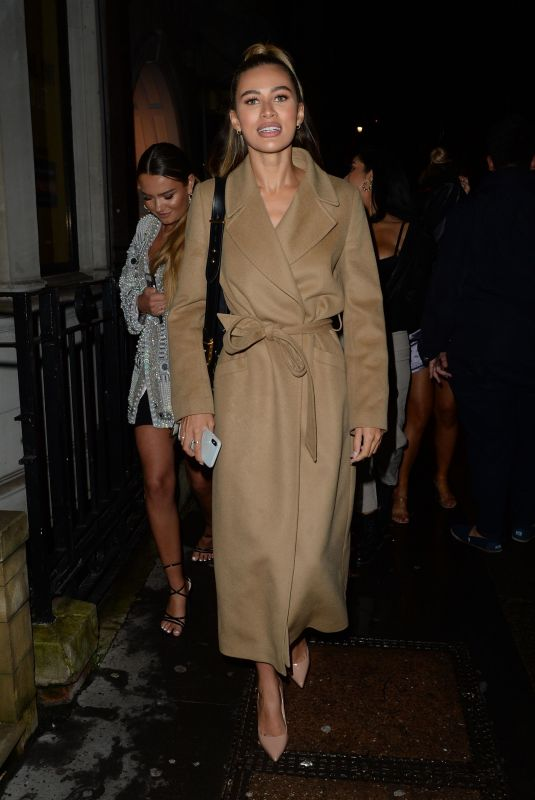 MONTANA BROWN Arrives at Annabel