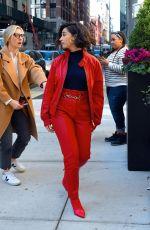 NAOMI SCOTT Arrives at Good Morning America in New York 11/06/2019