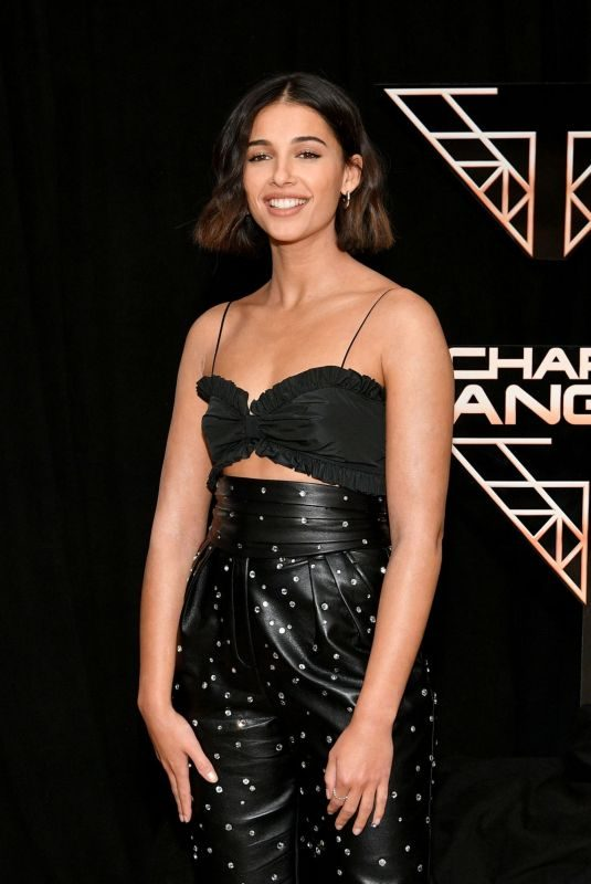 NAOMI SCOTT at Charlie's Angels Photocall in New York 11/07/2019