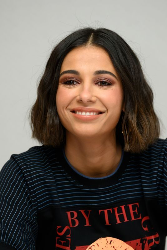 NAOMI SCOTT at Charlie's Angels Press Conference in New York 11/05/2019