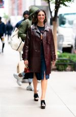 NAOMI SCOTT Out and About in New York 11/05/2019