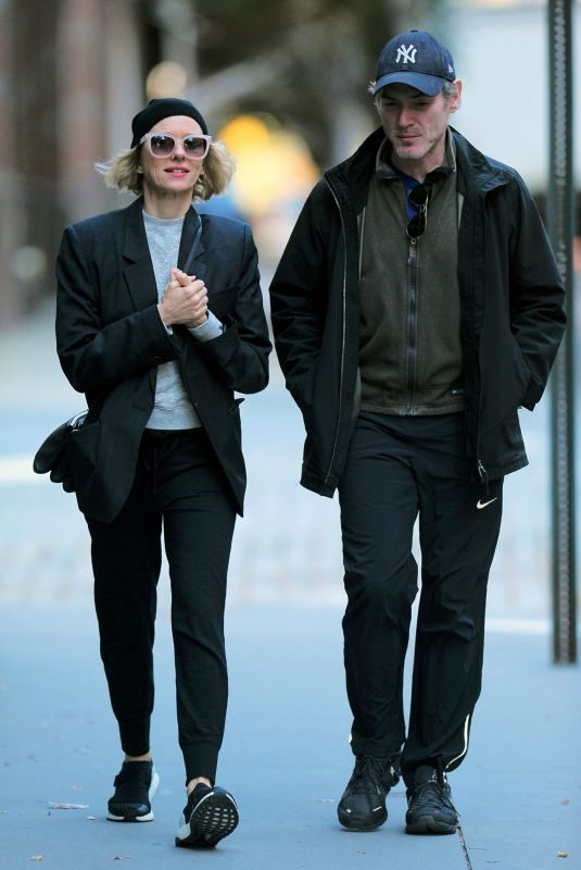NAOMI WATTS and Billy Crudup Out in New York 11/04/2019